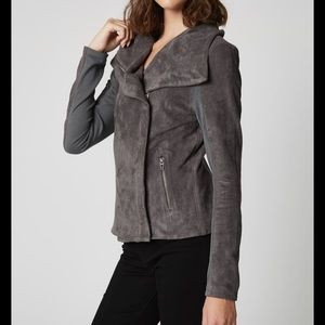 Blank NYC Faux Suede Jacket